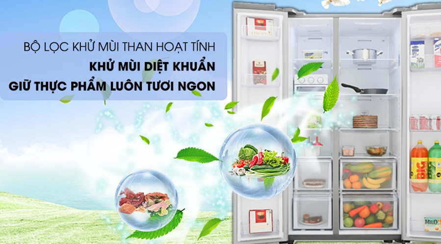 quả lọc tủ lạnh samsung