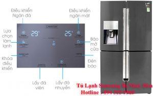 khắc phục tủ lạnh samsung bị nháy đèn đỏ